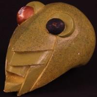 Mr. Grasshopper maquette head