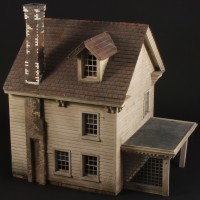 Large scale model miniature house