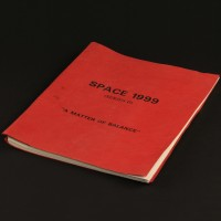 Production used script - A Matter of Balance