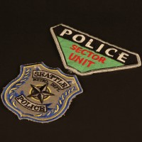 Seattle Police costume patches