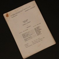 Production used script - Animals
