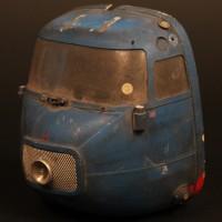 Blue Midget miniature cockpit