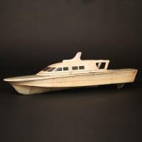 Boat filming miniature