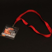 Access all areas Triffid lanyard