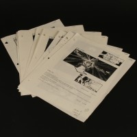 Production used storyboard sequence - Cab One