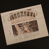 ILM hand drawn storyboard