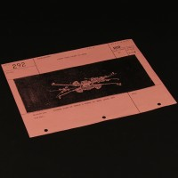 Production used storyboard - X-Wing formation