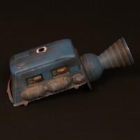 Blue Midget miniature rear section