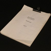 Early draft script - Backwards