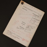 Roger Parkes personal script - The Chosen