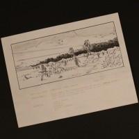 Hand drawn storyboard - Walkers advance