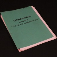 Production used script and paperwork - The Ugliest Monster of All