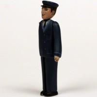 Railway worker miniature