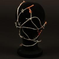 Barbie Cenobite barbed wire head appliance