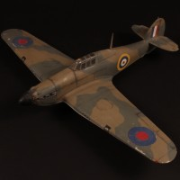 Hawker Hurricane filming miniature