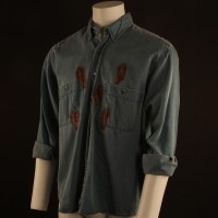 Brett (Frank Whaley) bullet hit shirt