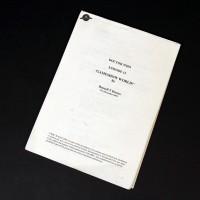 Alan Ruscoe personal script - Bad Wolf (Gameshow World)