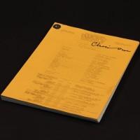 Production used camera script - Meglos