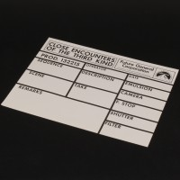 Visual effects camera slate