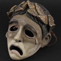 Commodus (Joaquin Phoenix) pantomime mask