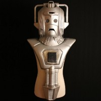 Cyberman helmet and chest unit - Earthshock