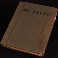 S.C Jaffe personal production script & binder
