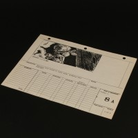 Production used storyboard - Regula I