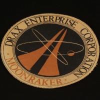 Drax Moonraker costume patch