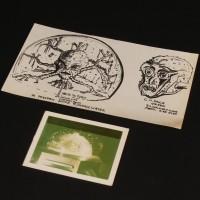 Ian Scoones hand drawn Arcturas concept artwork - The Curse of Peladon