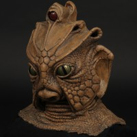 Silurian mask - Warriors of the Deep