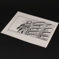 Production used storyboard - Ripley
