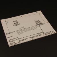 Brian Johnson personal storyboard - Overhead Speeders
