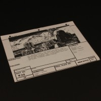 Brian Johnson personal storyboard - Walker cockpit