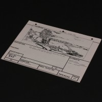 Brian Johnson personal storyboard - Troopers on Hoth