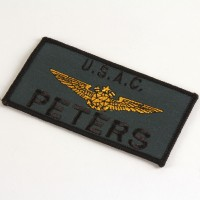 Peters (Kathleen Quinlan) name patch