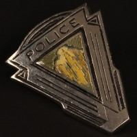 Central City Police cap badge