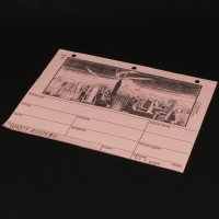 Production used storyboard - Ghost release