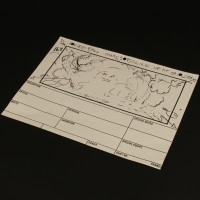 Production used storyboard - Stay Puft