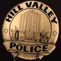 Alternate 1985 Hill Valley Police magnet