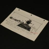 Production used storyboard - Indy & Fedora