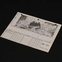 Lorne Peterson personal storyboard - Mine cart chase