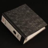 Production used storyboard binder