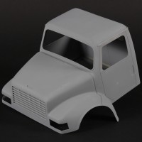 Miniature truck cab