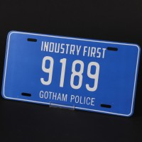 Gotham Police licence plate