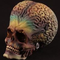 Martian puppet head