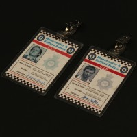 Sam Tyler (John Simm) & Gene Hunt (Philip Glenister) ID badges