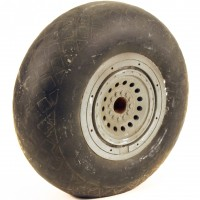 B-17 wheel miniature