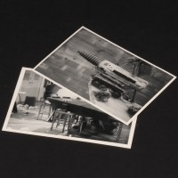 Vintage autographed stills - Pit of Peril