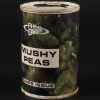 Ships issue mushy peas