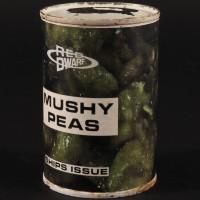 Ships issue mushy peas